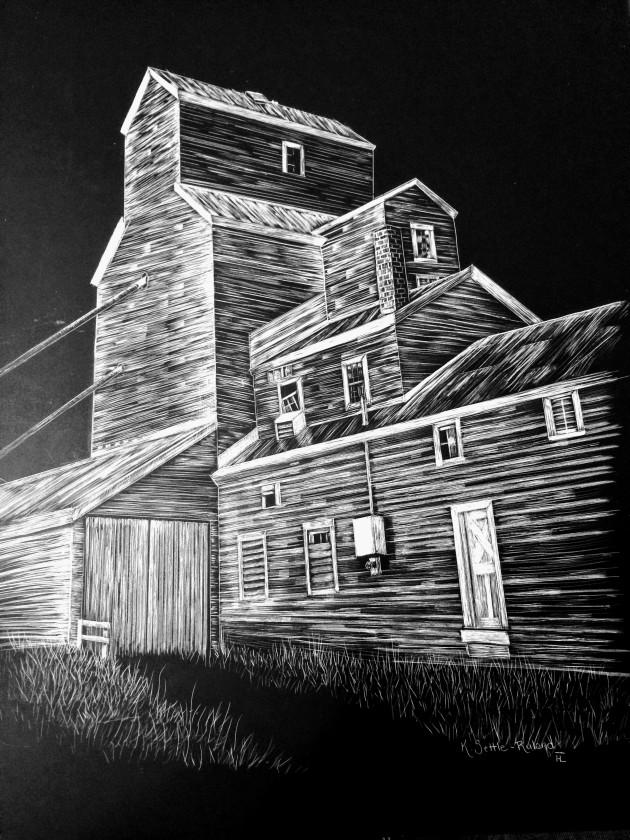 Prairie Castle, 11x14 $700
